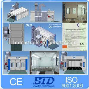 Btd7500 Paint Booth Spraying Oven Auto Spray Booth Factory Price pictures & photos