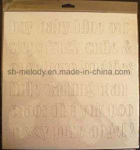"""12""""X12"""" Die Cut Chipboard Decoration for Scrapbooking & DIY Crafts pictures & photos"""
