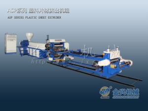 Asp Single Layer PP Sheet Extruder pictures & photos