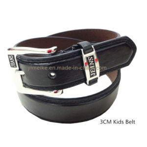 Classical Jeans PU Leather Children Belt Made in China pictures & photos