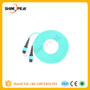 MPO Singlemode Fiber Optic Connector for CCTV and Telecomunication pictures & photos