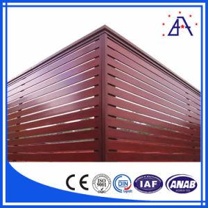 Shanghai Brilliance Best Qualtiy Wood Color Aluminum Fence Panels pictures & photos