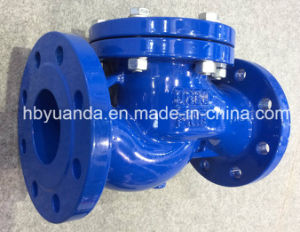 DIN ductile iron flanged end PN16 lift check valve manufacturers pictures & photos