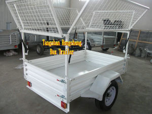 Powder Coated Multifunctional Box Trailer, Caged Trailer, Garden Trailer