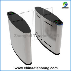 RFID IC Card Reader Controlled Full Height Sliding Barrier Gate Turnstile Th-Fsg608 pictures & photos