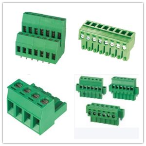 High Quality PCB Terminal Block 3.5 /3.81mm 5.0/5.08mm Pitch pictures & photos