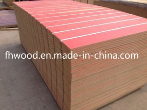 Grooved MDF (Medium-density firbreboard) for Furniture pictures & photos