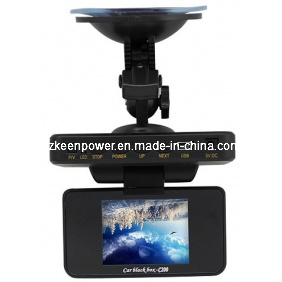Night Vision Car DVR with HD 2.5 Inch LCD Screen 120 Degree Wide Angle Lens pictures & photos