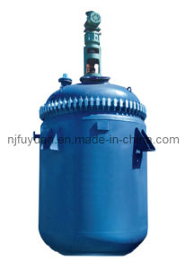 Jacketed Glass Lined Reactor (Open Type, agitator, reducer, motor, thermowell) pictures & photos