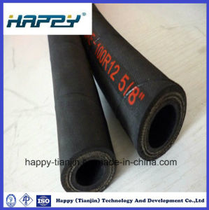 Multi Spiral Hydraulic Hose Saej517 Type 100 R12 pictures & photos