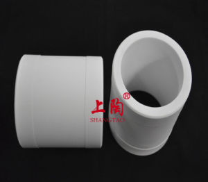 C799, C530, C610 Al2O3 Alumina Ceramic Collar Bushing pictures & photos