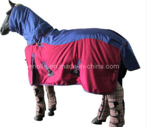 Waterproof Turnout Blanket with Neck Covers to Match Standards (E020748)