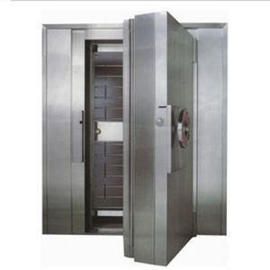 Stainless Steel Double Door Cashbox Antitheft Bank Vault Door pictures & photos