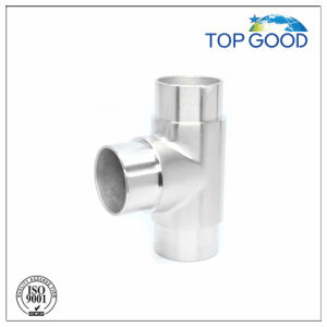 Stainless Steel T 3-Way Tube Connector pictures & photos