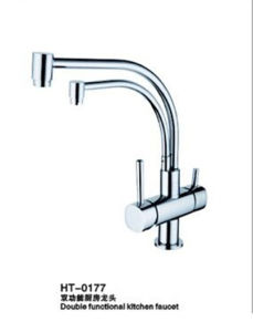 Excellent Quality Purified Water Kitchen Faucet with Dual Handles pictures & photos