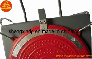 3D Wheel Alignment Wheel Aligner Rotating Rotary Plate Mechanical Turnplate Turntable (JT008) pictures & photos