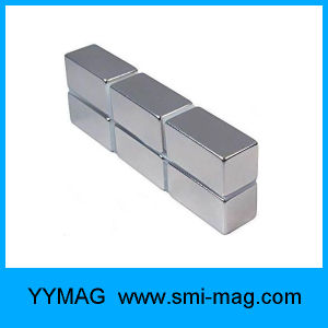 Chinese Small Customized Block Neodymium Magnets Used in Cabinet Door Stopper pictures & photos