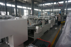 Long Life Square Bottom Paper Bag Making Machine pictures & photos