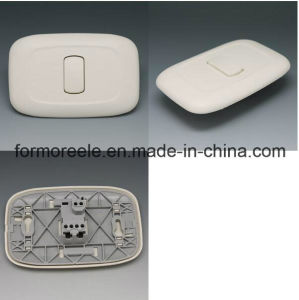 1 Gang 2 Way ABS Ivory Light Wall Switch for Brazil pictures & photos