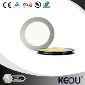 Ultrathin 12W Punch Size 150mm Circular LED Panel Light pictures & photos