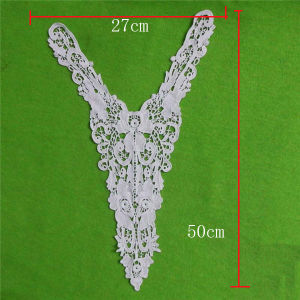 Fashion Cotton Yoke Appliques Necklace (cn68) pictures & photos