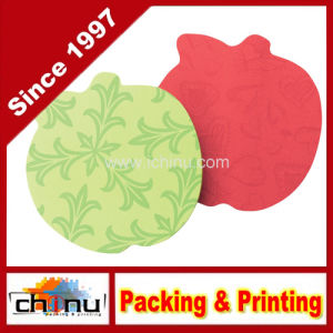 Sticky Notes, 3 X 3-Inches, Apple Shape, Assorted Bright Colors (440059) pictures & photos