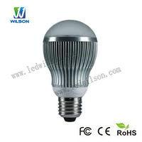 E27 9W LED Bulb Light, 800lm, CRI 80, 150deg., 60-75W Incandescent Replacement