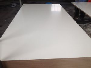 17mm Melamine MDF /Melamine Faced MDF pictures & photos