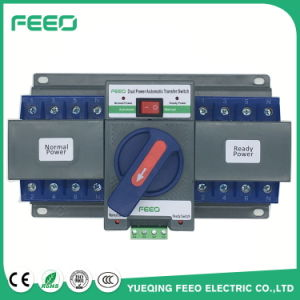 2016 New 1-63A 2p 3p 4p 230VAC Dual Power Automatic Transfer Switch pictures & photos