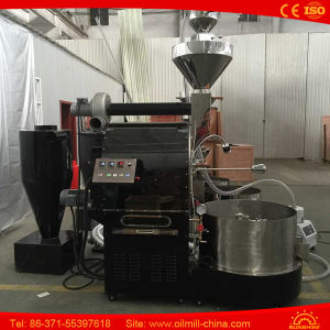 15kg Direct Fire Half Hot Air Coffee Bean Roasting Machine pictures & photos