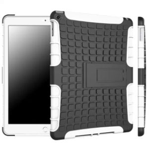 Silicone Plastic Hybird Armor Combo Tablet Case for iPad 2/3/4/5/6