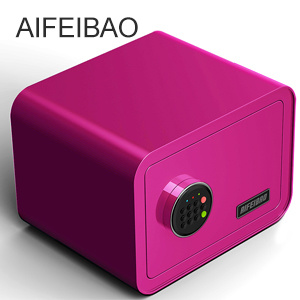 Security Digital Electronic Safe Box Color Purple pictures & photos