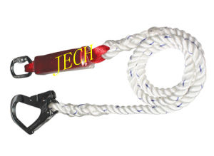 Emergency Absarber Lanyard Emergency Absarber Rope Safety Lanyard Safety Rope pictures & photos