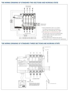 Three Stages Automatic Transfer Switch with RS485 Interface (YMQ-800A/4P-3) pictures & photos