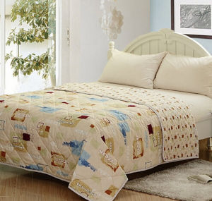 High Quality Summer Quilt Bedding Set (T137) pictures & photos