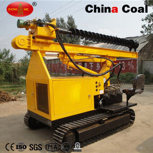 Crawler Hydraulic Diesel Spiral Screw Pile Driver for Sale pictures & photos