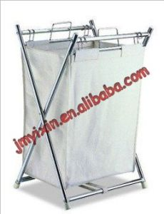 Folding Hamper with Canvas Pullout Bag (L2015)