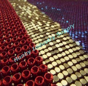 Fashion 4mm Metallic Glow Mesh pictures & photos