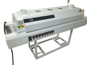T8 Reflow Oven with 8 Heating Zones for SMT Assembly pictures & photos