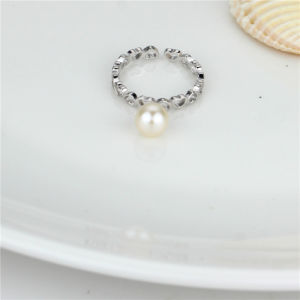 Sterling Silver Top Sales Freshwater Pearl Ring pictures & photos