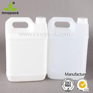 Clear/White 5L Plastic Jerry Can with Screw Lid pictures & photos