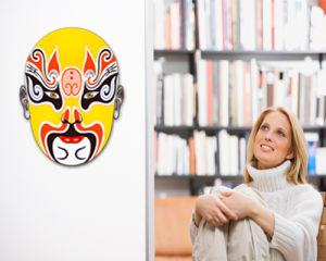 Peking Opera Mask Sticker (TP-073-32)