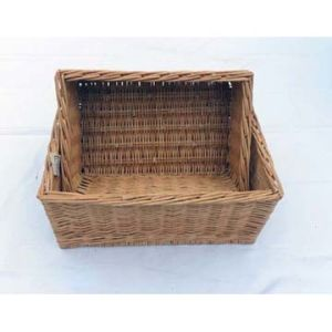 Natural Willow Storage Basket (SB038)