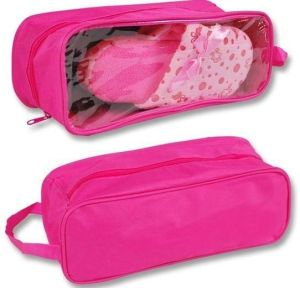 Durable Shoe Travel Pink Shoe Bags pictures & photos