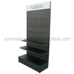Peg Board Hook Exhibition Metal Pegboard Display Stand pictures & photos