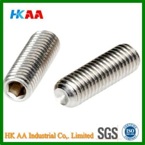 Stainless Steel Socket Set Screw with Cup Point (A2 DIN916) pictures & photos