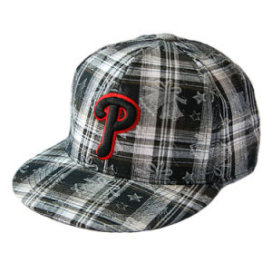 Custom Flat Brim Fitted Hats (JRN019) pictures & photos