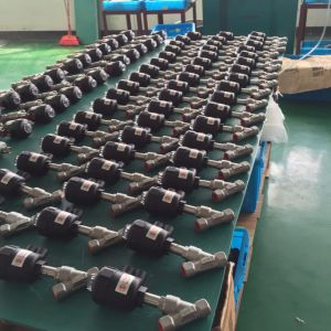Factory Supplier Thread Type Quality Assurance Pneumatic Angle Seat Valve for Dyeing Machine/Compressed Air Dryers-Accept Paypal pictures & photos