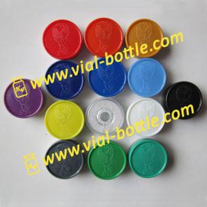 Custom Cap Embossed Design on Flip off Lid Vial Cap for Anabolic Vial pictures & photos