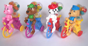 Cartoon Dogs Bicycle Candy Toys (110616) pictures & photos